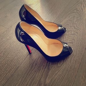 💯Authentic Christian Louboutin Privé 120mm pumps